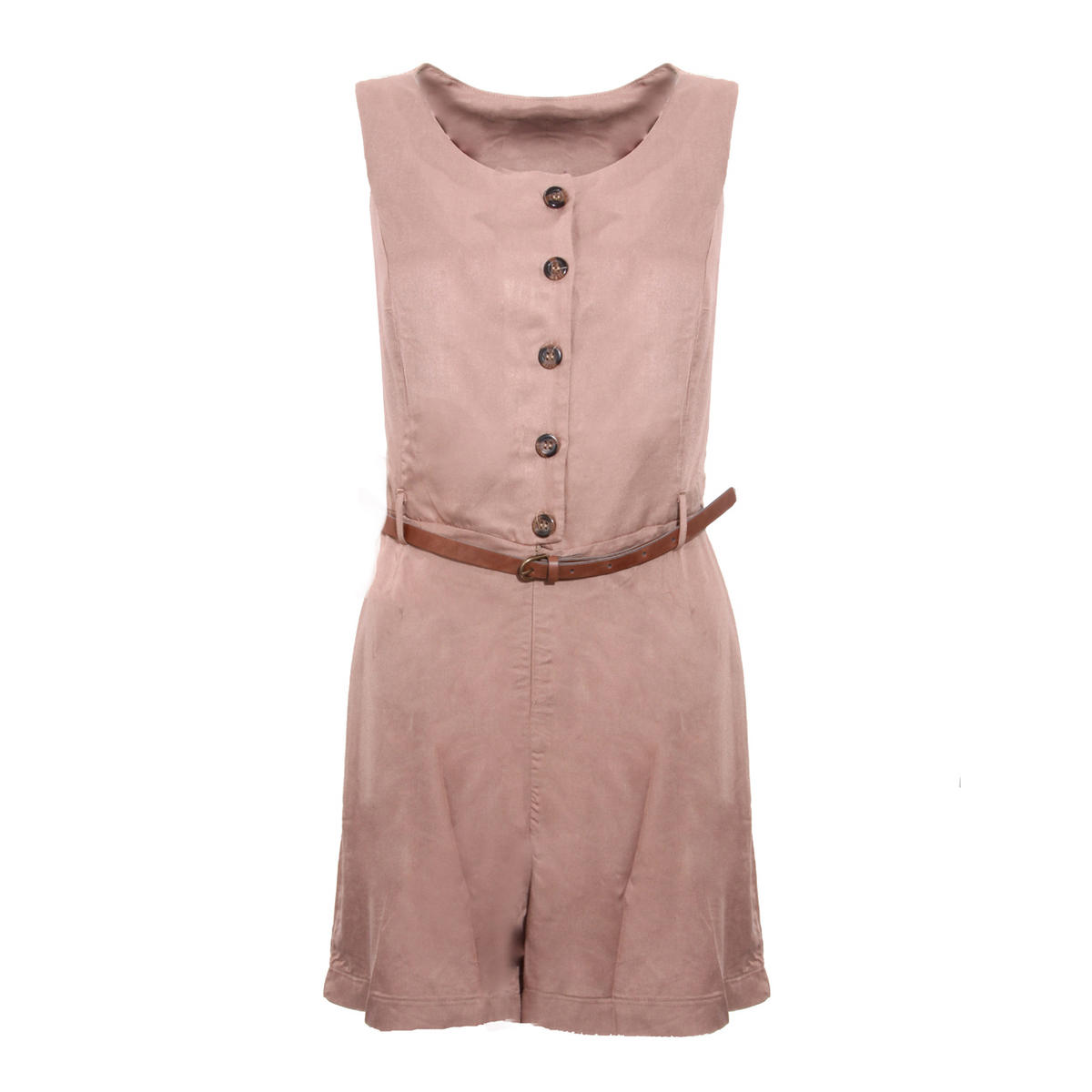 Belted Button Up Playsuit Preview