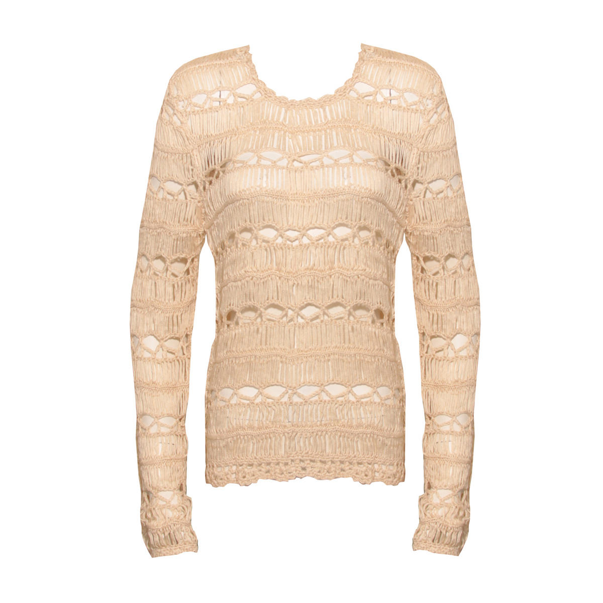 Cream Crochet Detail Jumper Preview