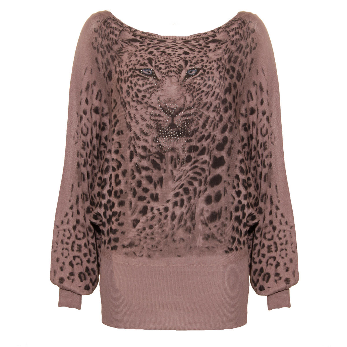 Leopard Embellished Jumper Preview