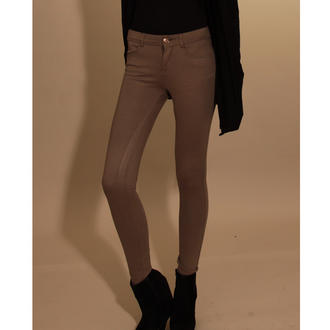 View Item Mocha Skinny Fit Jeggings