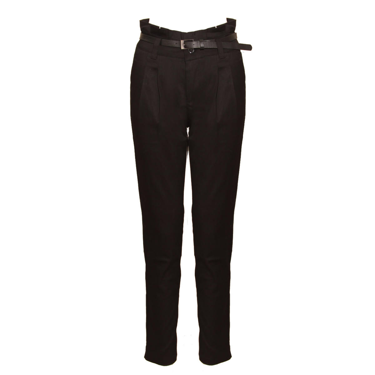 Black Belted Chino Trousers Preview