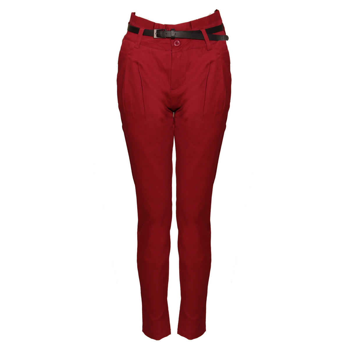 Red Belted Chino Trousers Preview