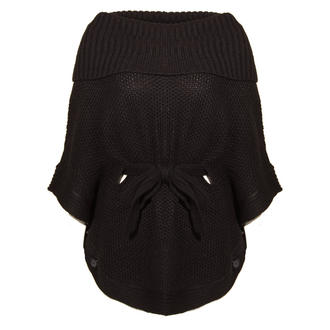 View Item Chunky Knit Cowl Neck Jumper In Black