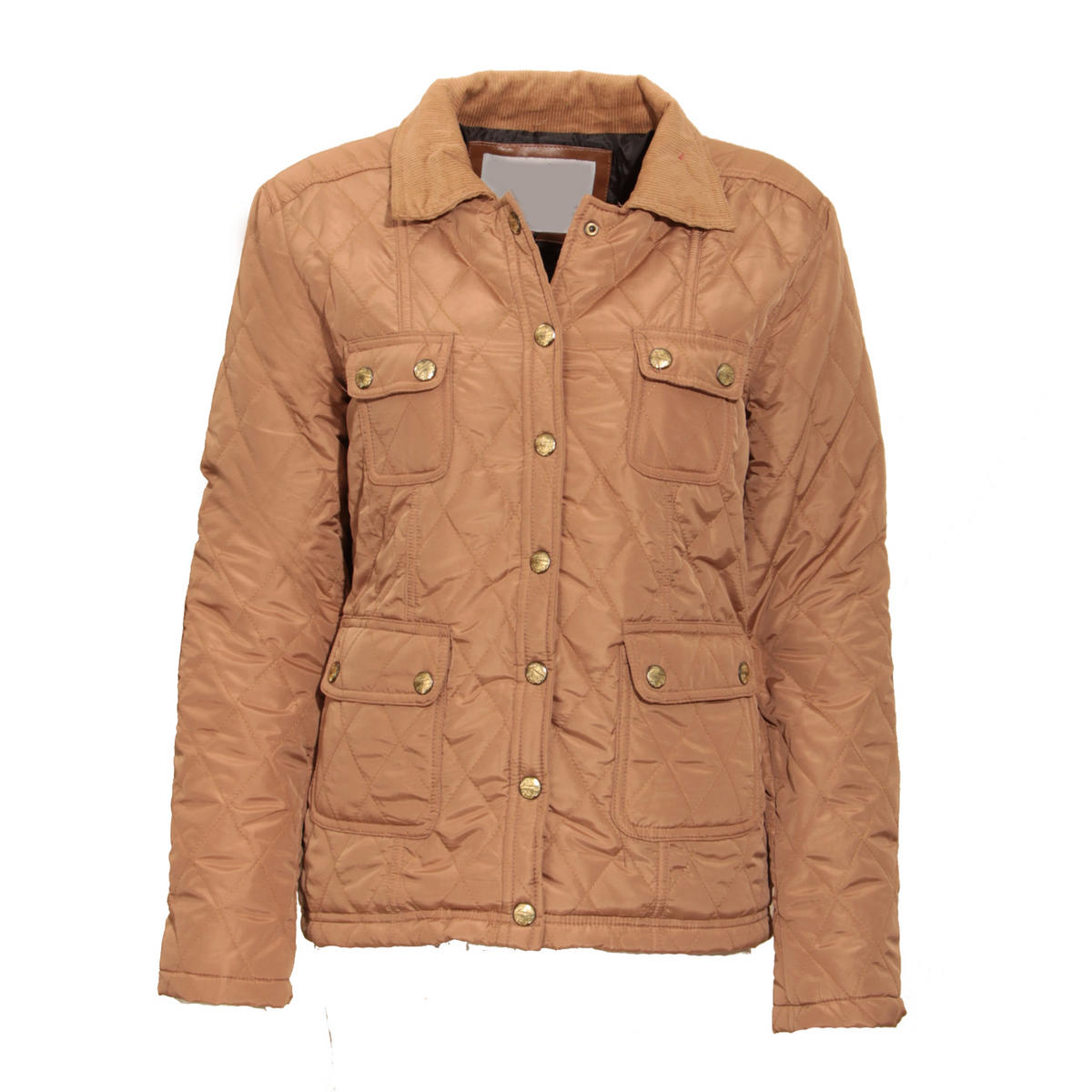 Camel Quilted Pocket Jacket Preview