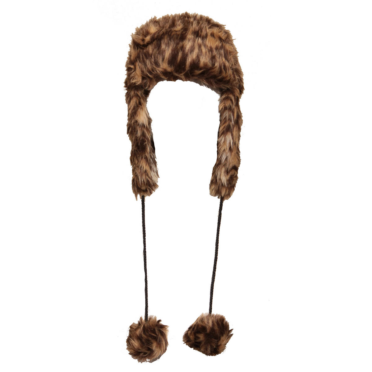 Brown Faux Fur Trapper Hat Preview