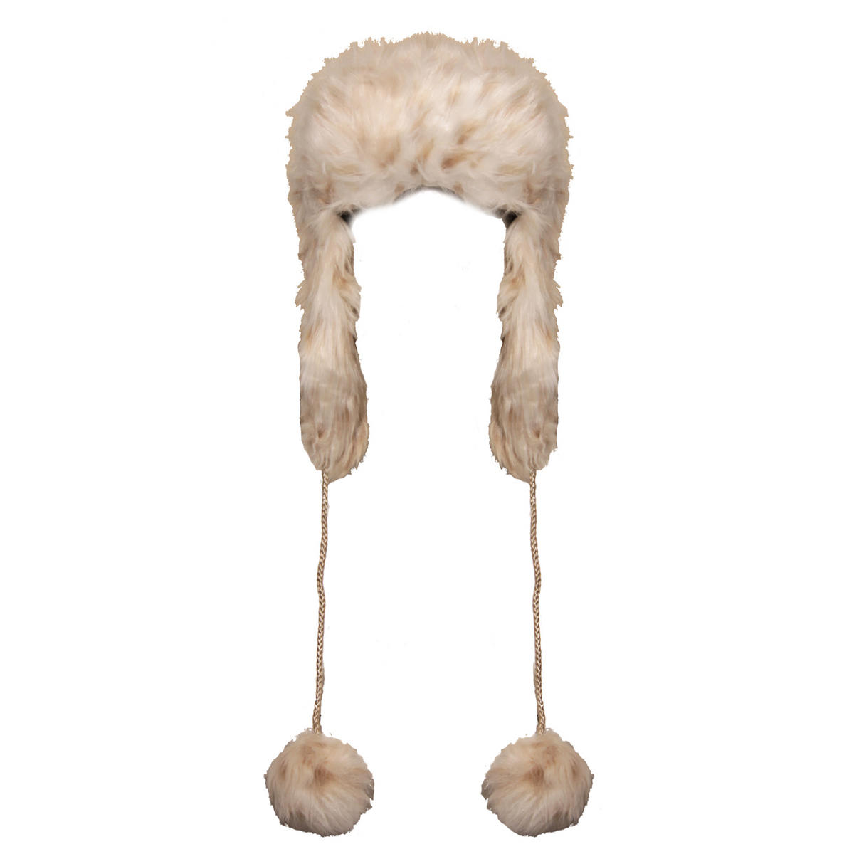 Cream Faux Fur Trapper Hat Preview