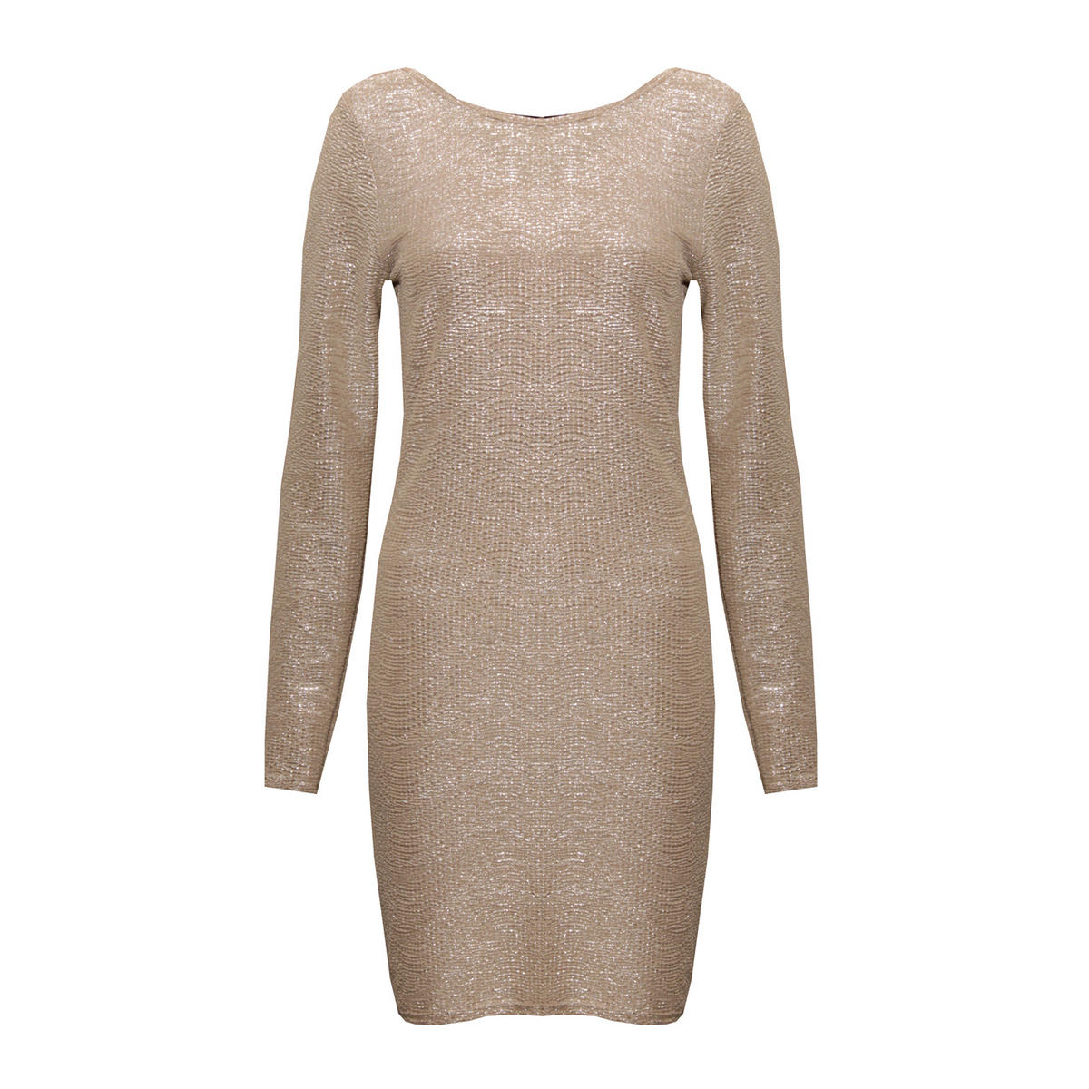 Metallic Long Sleeve Bodycon Dress  Preview