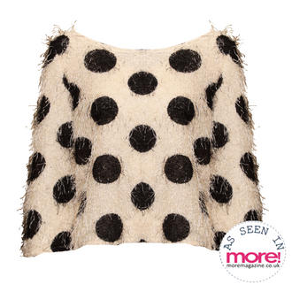 View Item Monochrome Polka Dot Jumper