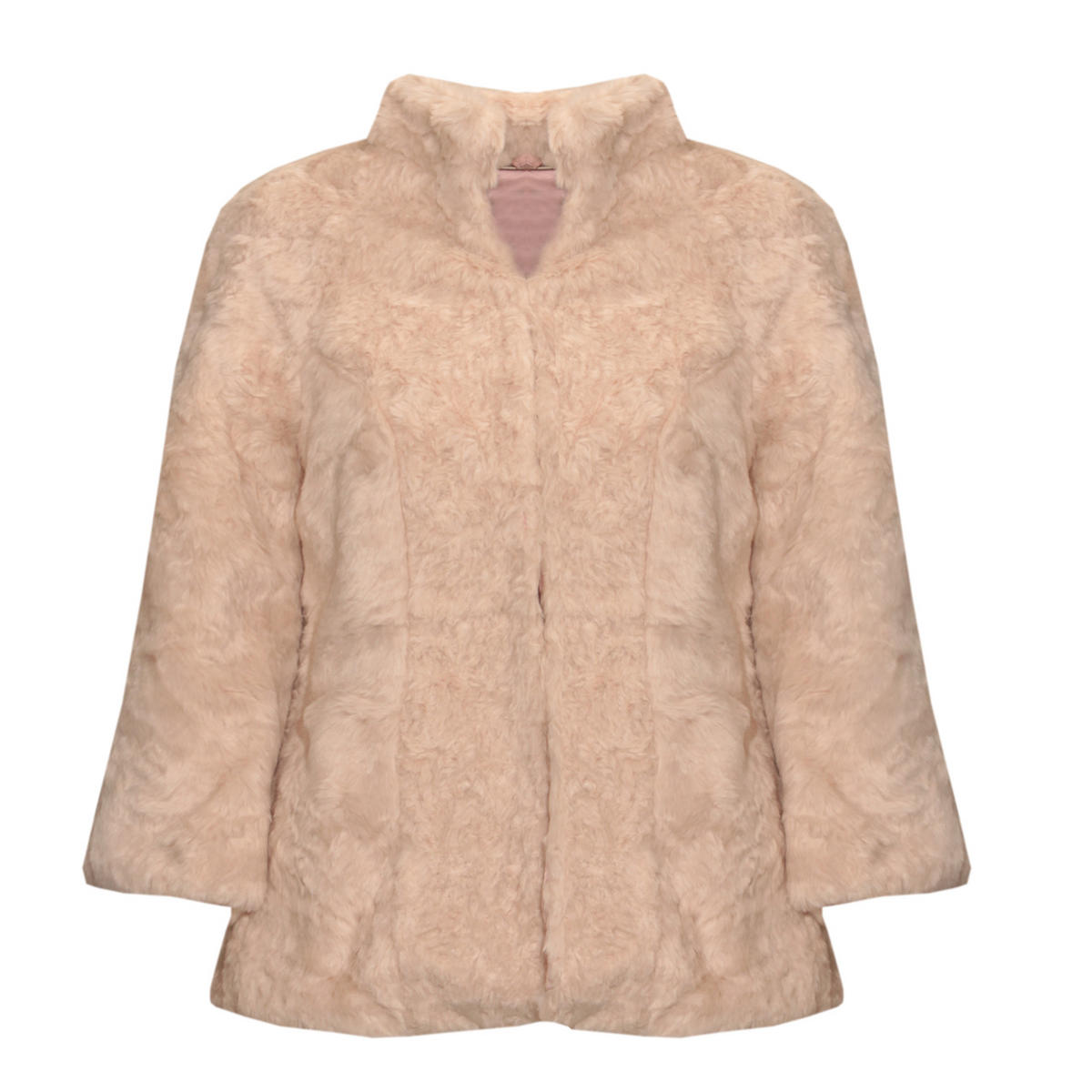 Cream Faux Fur Jacket Preview