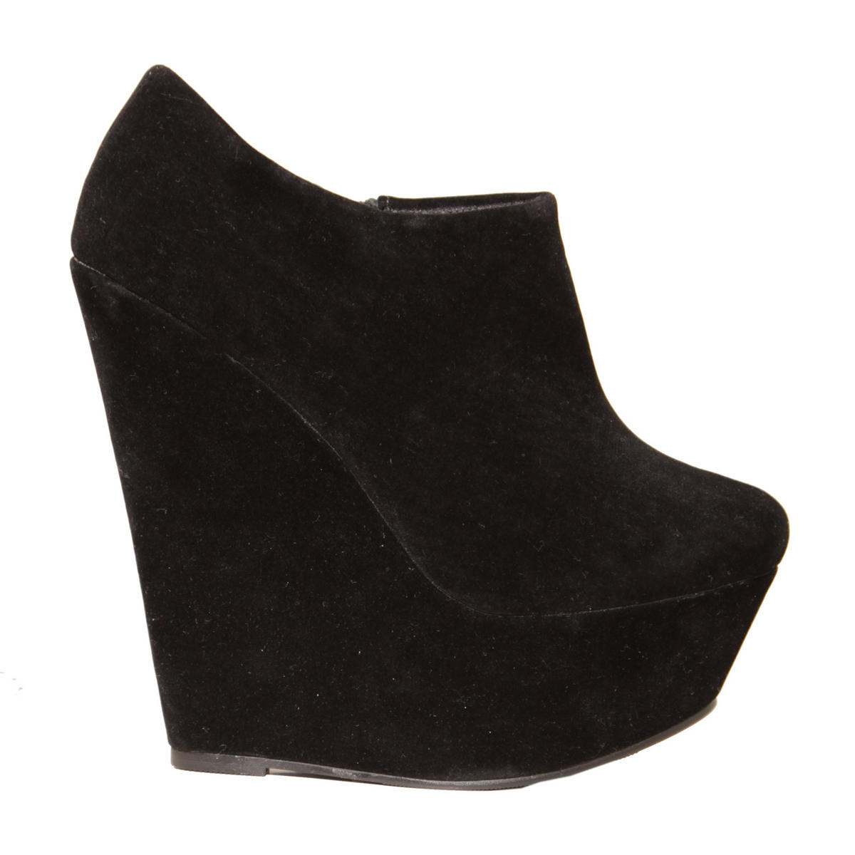 Black Wedge Ankle Boot Preview