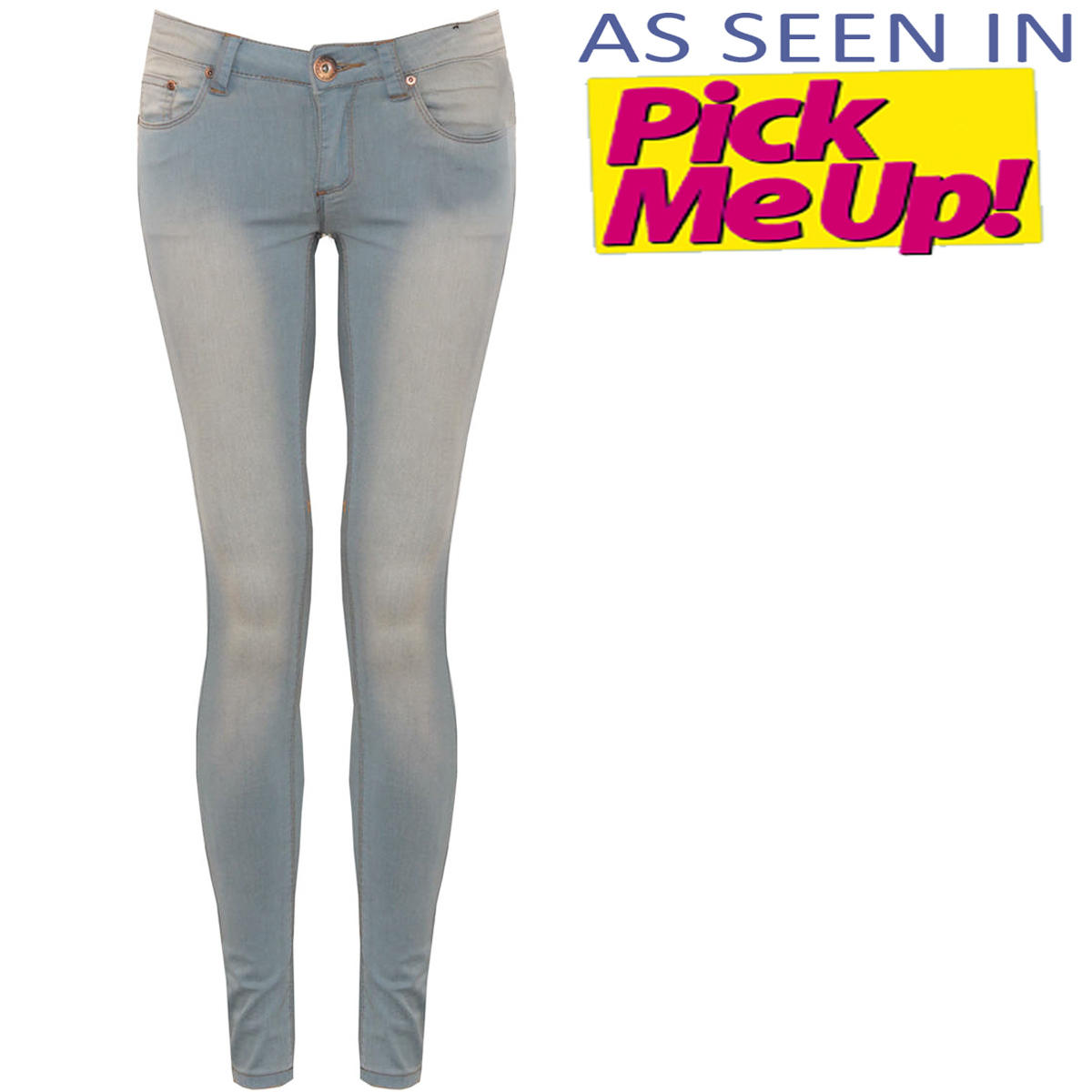 Pale Blue Stretchy Skinny Fit Jean Preview