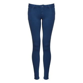 View Item SIZE 14 ONLY Blue Skinny Fit Jean