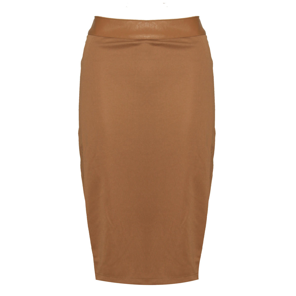 Mocha Midi Pencil Skirt Preview
