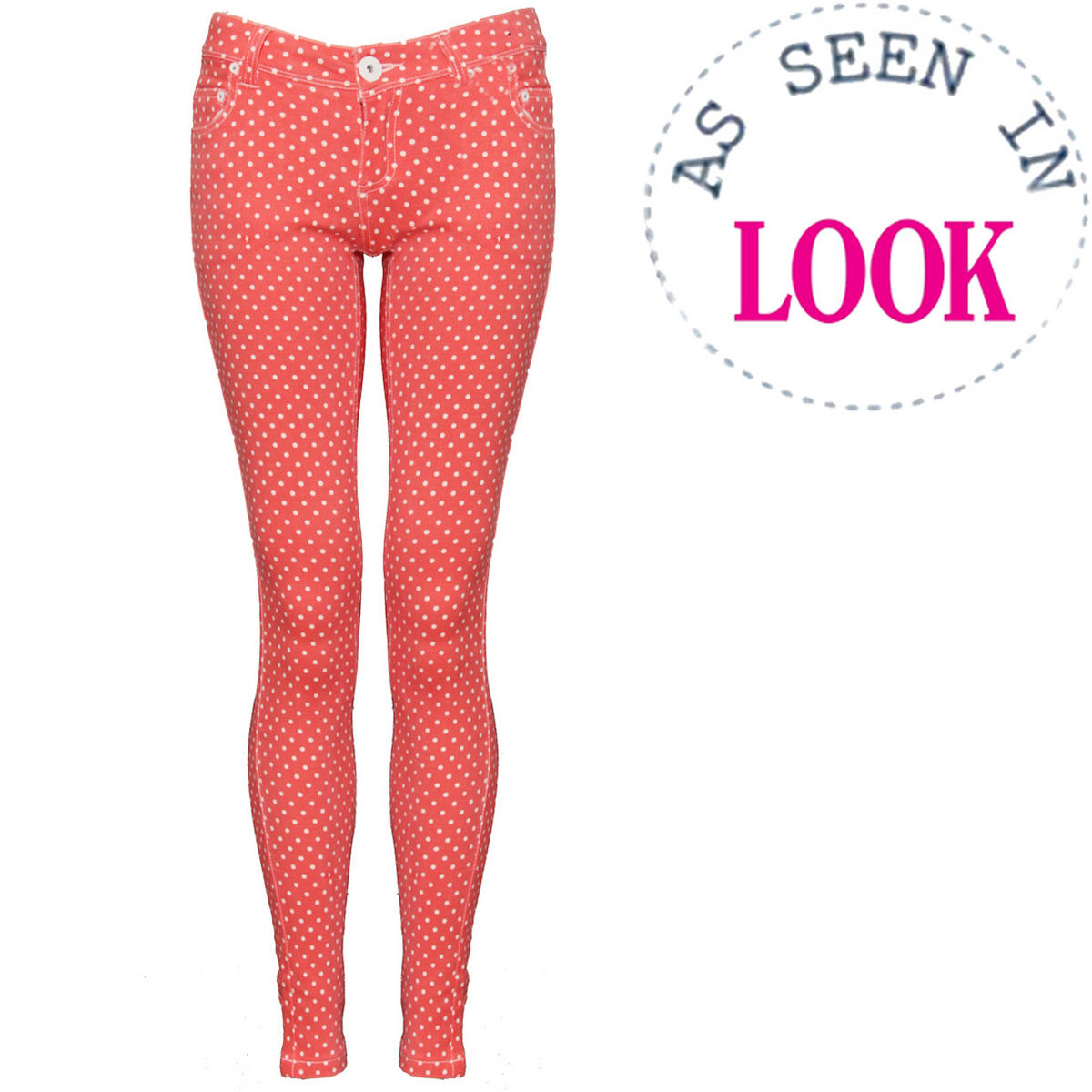 Polka Dot Skinny Fit Jean Preview