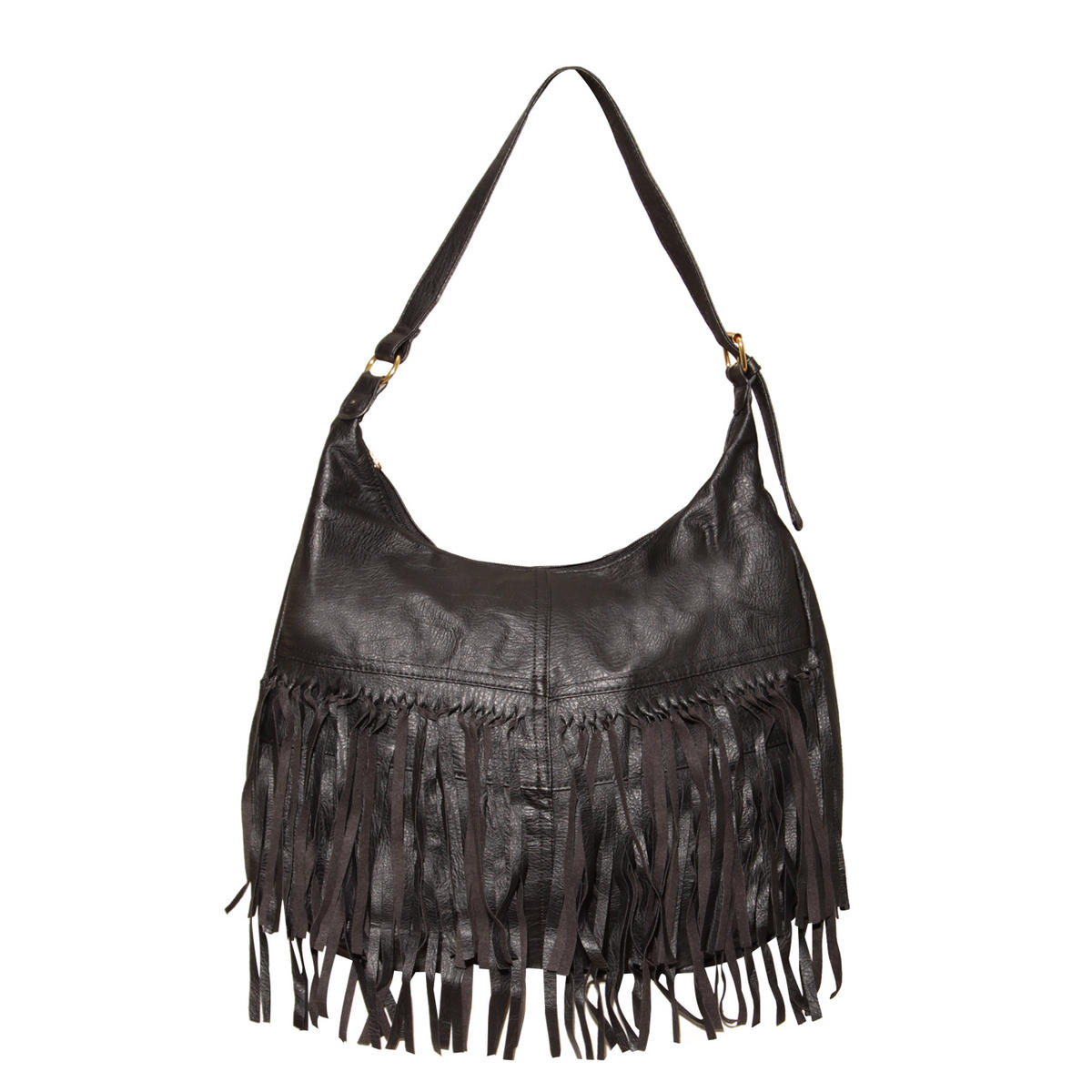 Black Fringe Handbag Preview