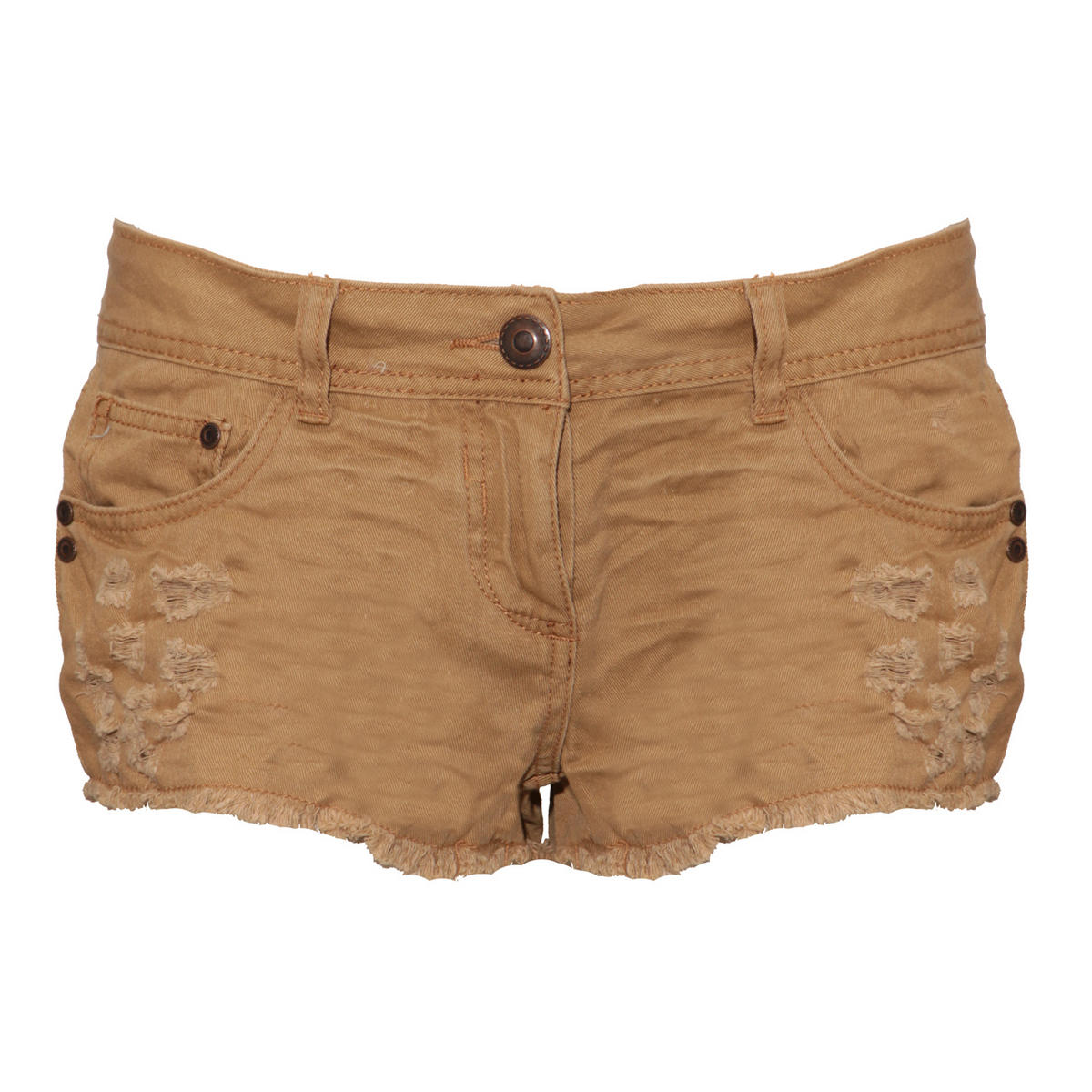 Stone Distressed Cut Off Short Preview