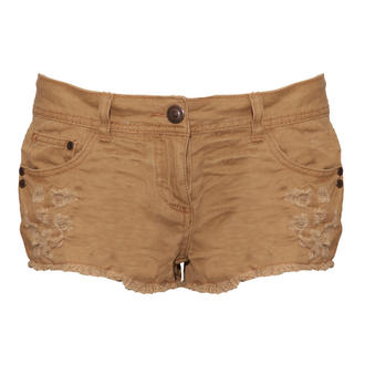 View Item Stone Distressed Cut Off Short