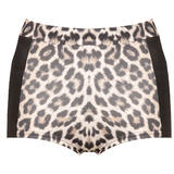 Leopard Print Hot Pants