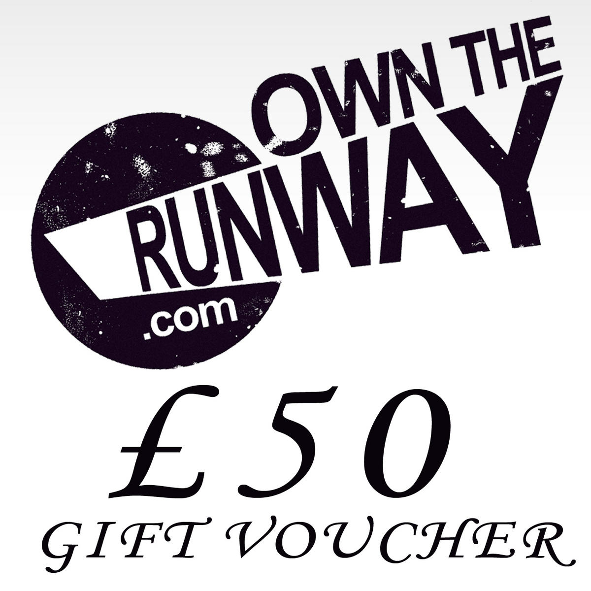 Own The Runway Gift Voucher 50.00 Preview