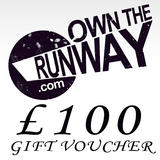 Own The Runway Gift Voucher �100.00