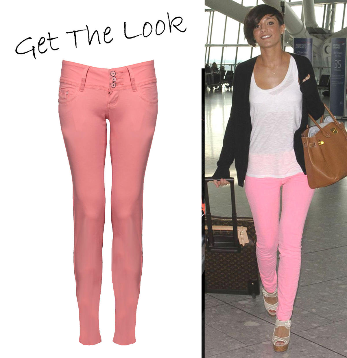 Pink Skinny Fit Jean Preview