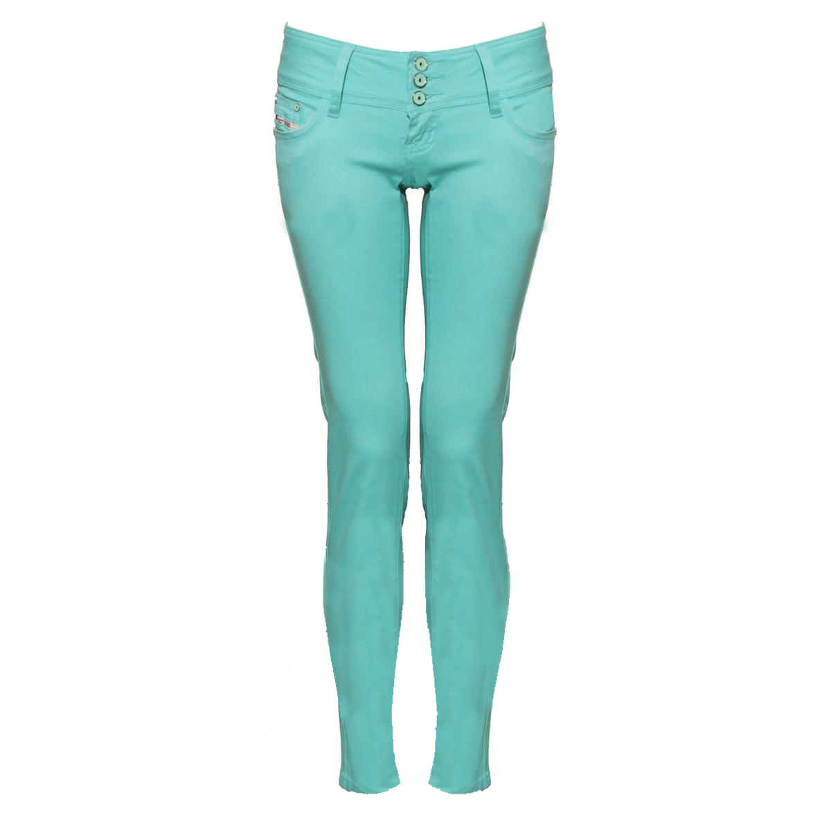 Turquoise Skinny Fit Jean Preview