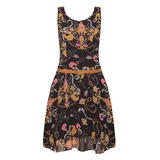 SIZE 8/10 ONLY Chain Print Skater Dress