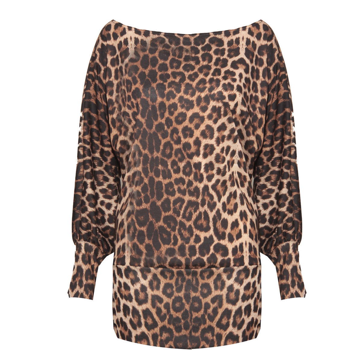 SIZE S/M ONLY Leopard Print Top Preview
