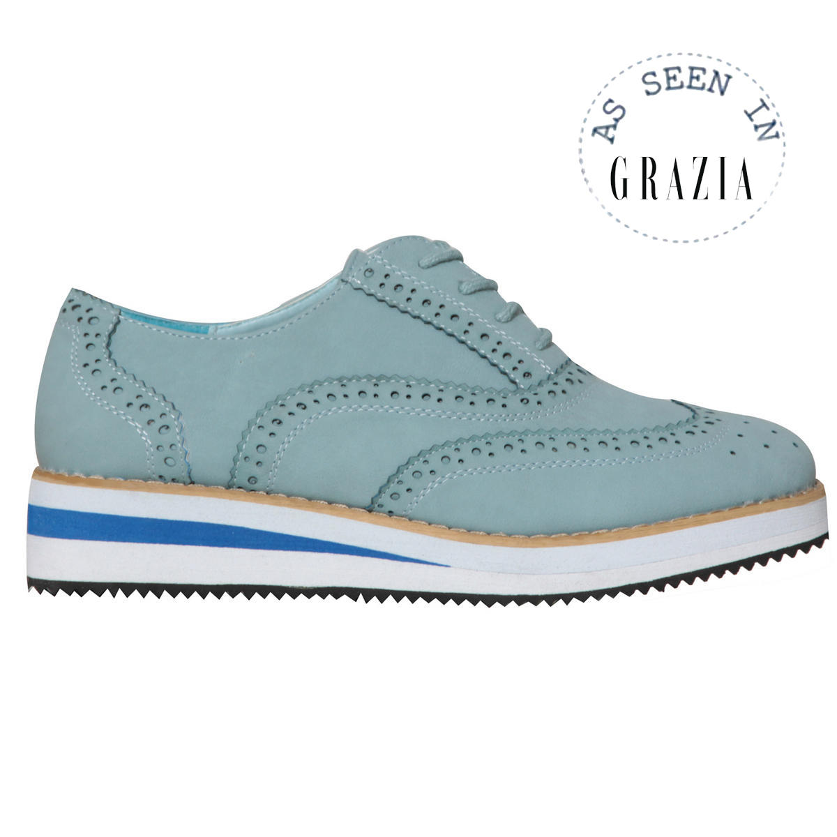 Pastel Blue Creeper Shoe Preview