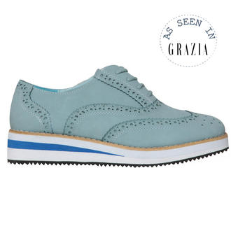 View Item Pastel Blue Creeper Shoe