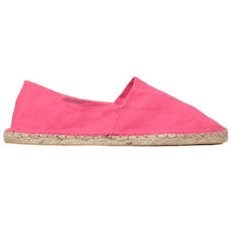 View Item Pink Canvas Flat Shoe