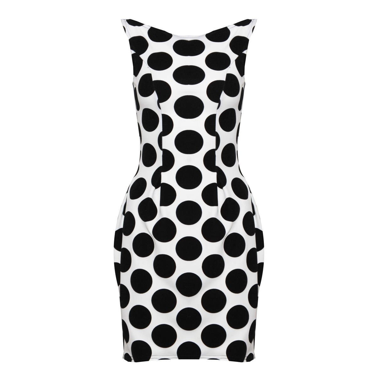 Monochrome Polka Dot Dress Preview