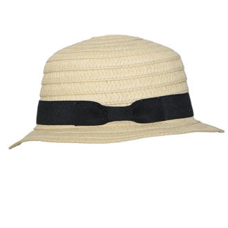 View Item Straw Boater Hat