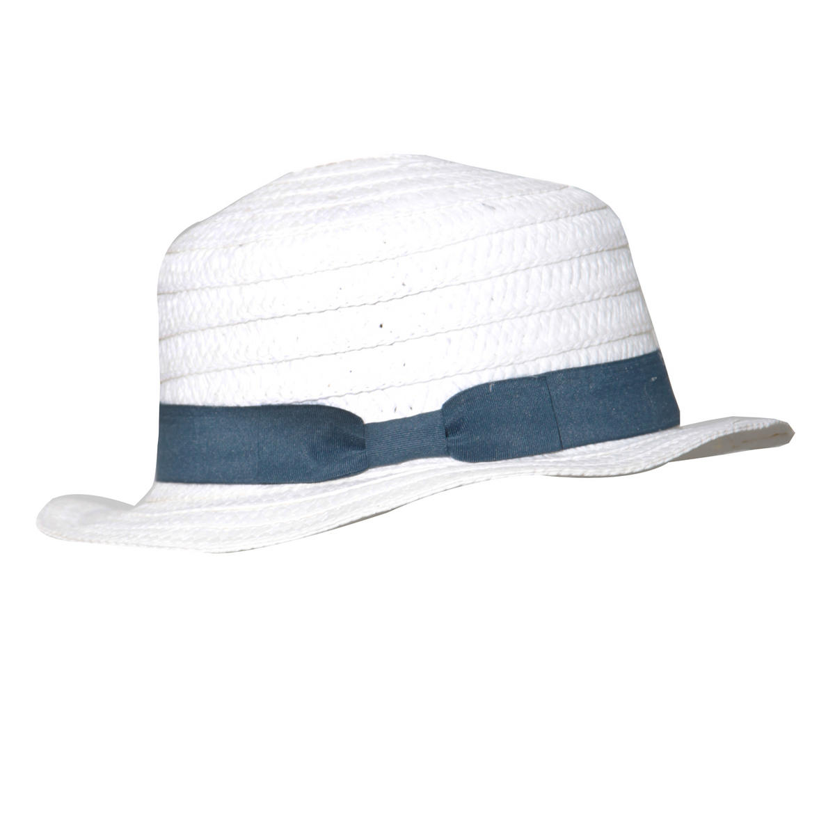White Straw Boater Hat Preview