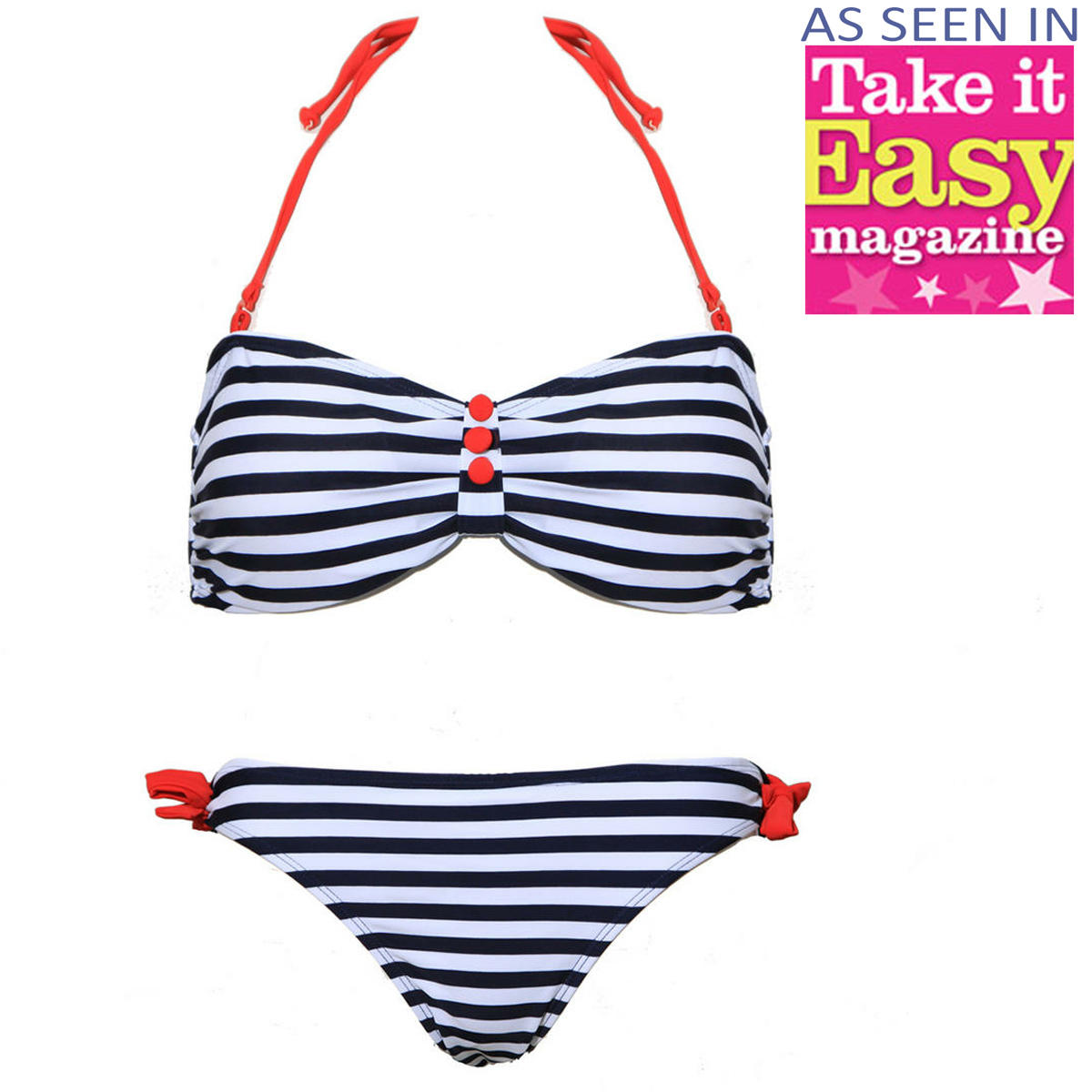 Nautical Stripe Bikini Preview