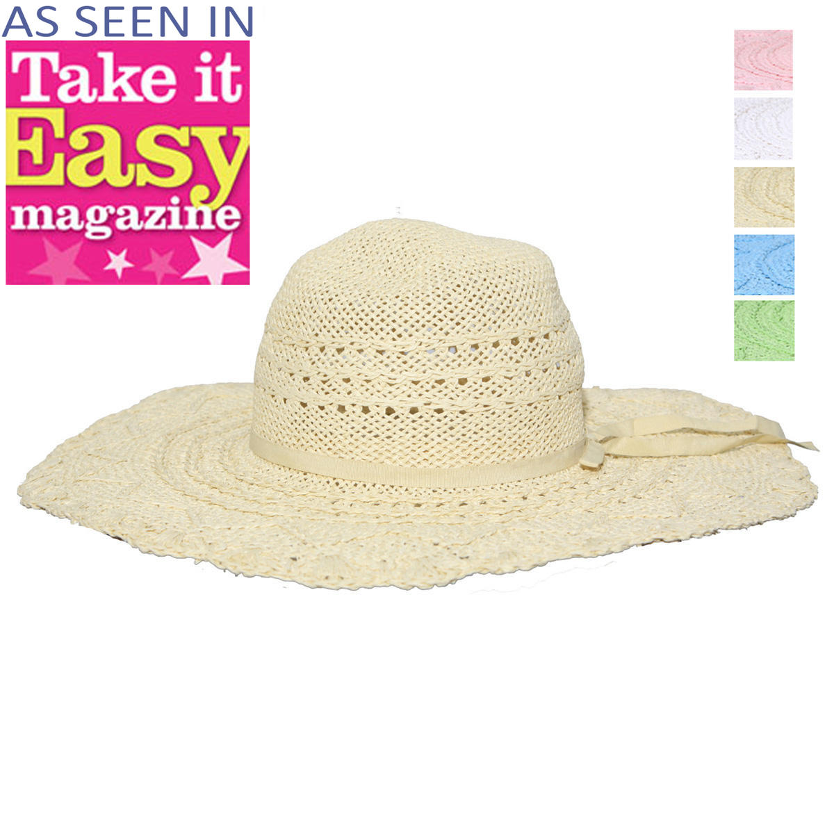 Straw Sun Hat Preview