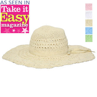 View Item Straw Sun Hat