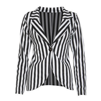 View Item Monochrome Stripe Boyfriend Blazer