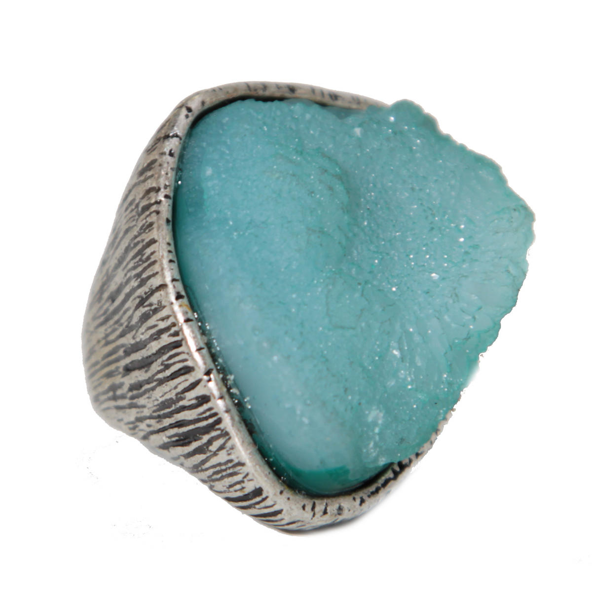 Turquoise Oversize Stone Ring Preview
