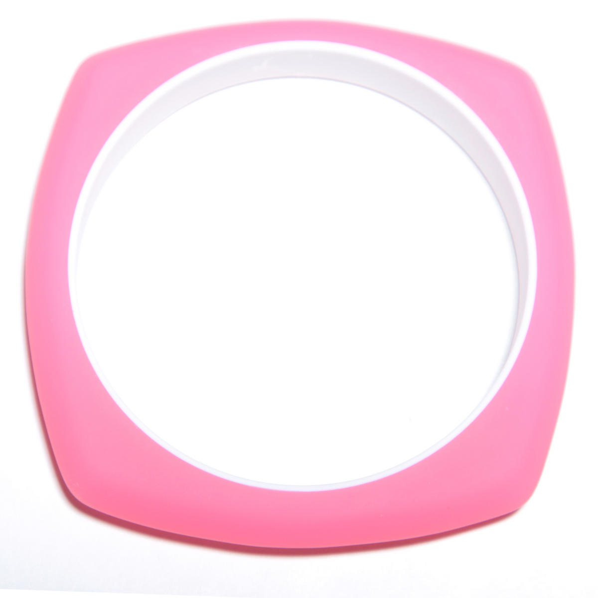 Neon Pink Rubber Bracelet Preview