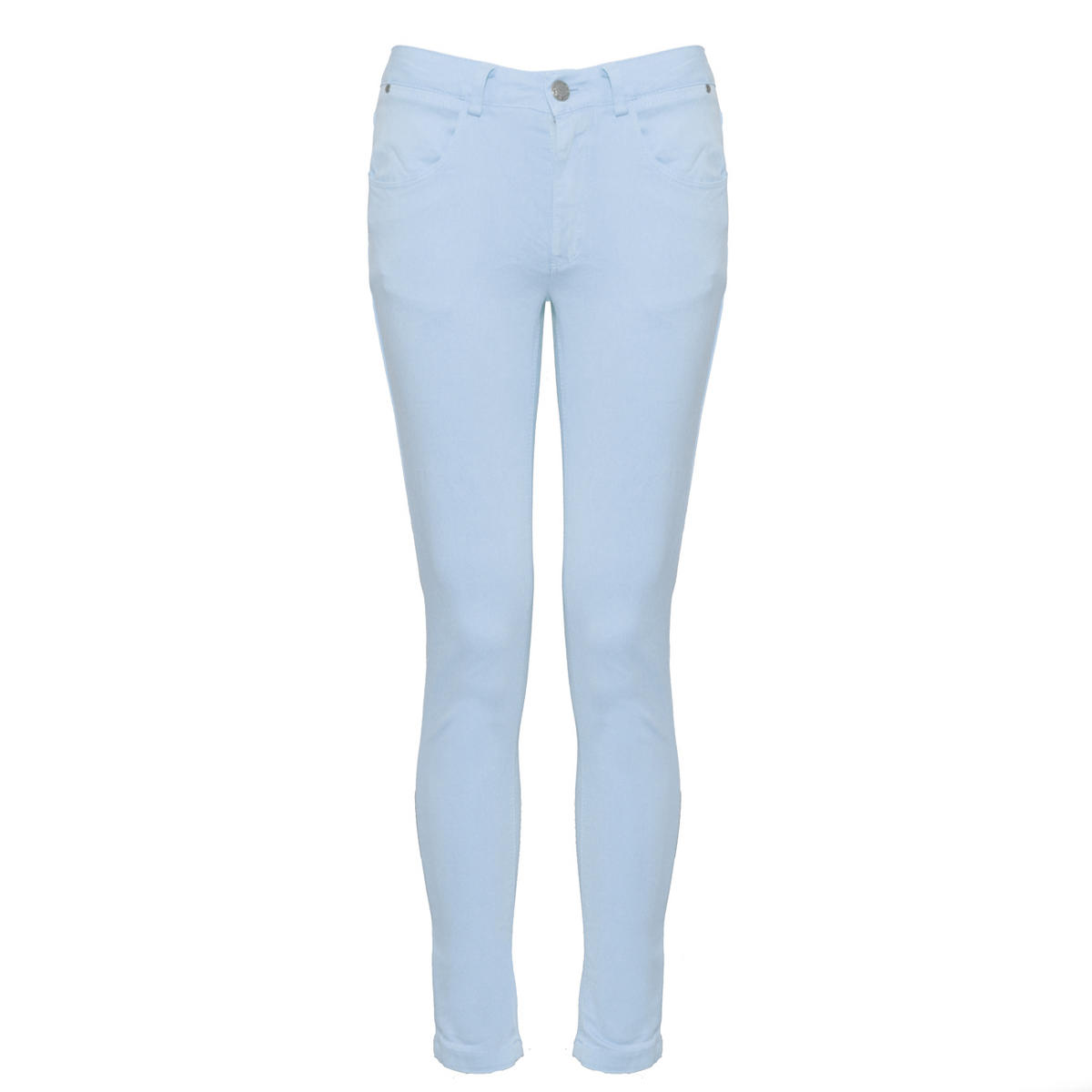 SIZE 16 ONLY Pastel Blue Skinny Jean Preview