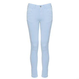 View Item SIZE 16 ONLY Pastel Blue Skinny Jean