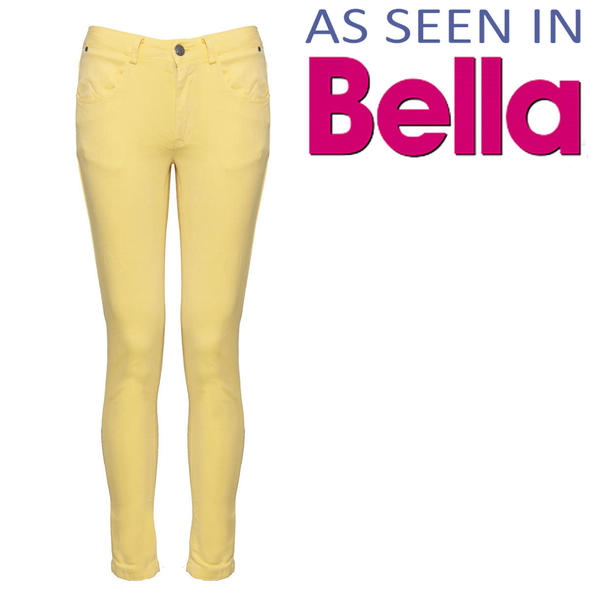 Yellow Skinny Jean Preview