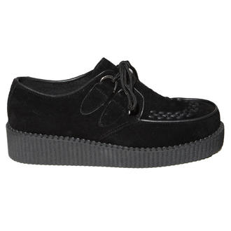 View Item Black Lace Up Creeper Shoe