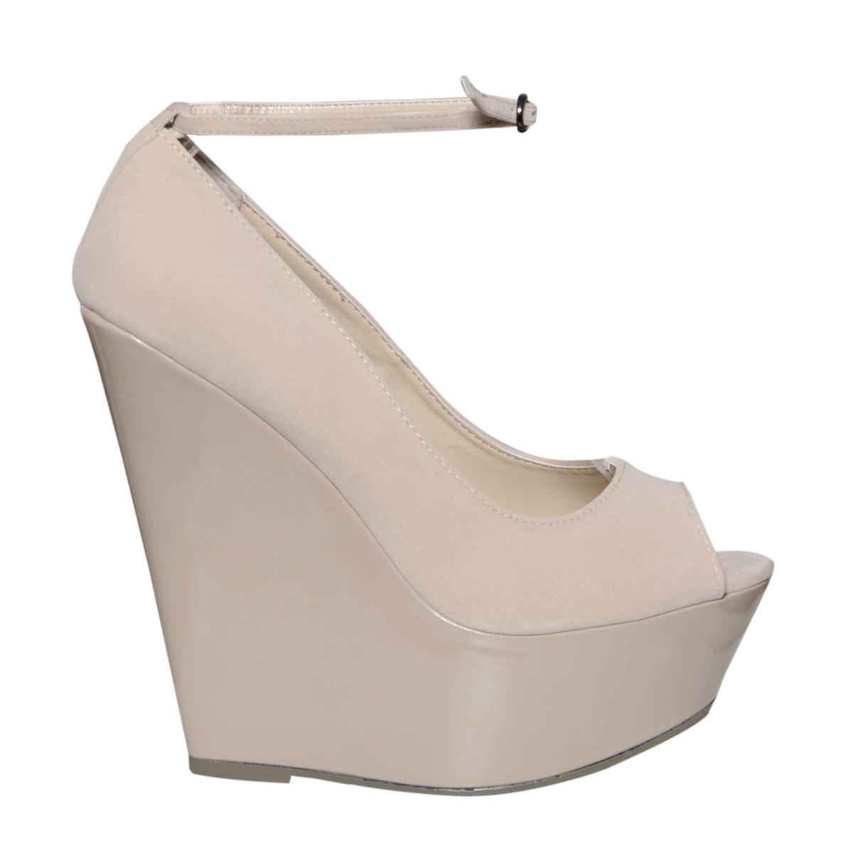 Nude Peeptoe Wedge Shoe Preview