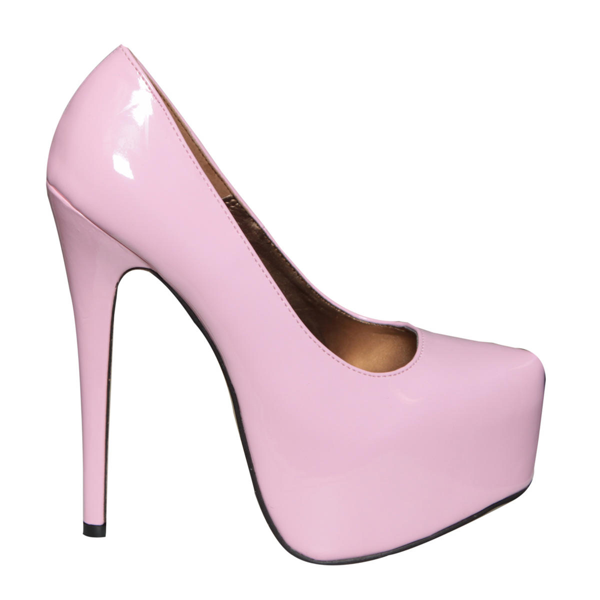 SIZE 3 ONLY Pink Patent Platform Shoe Preview