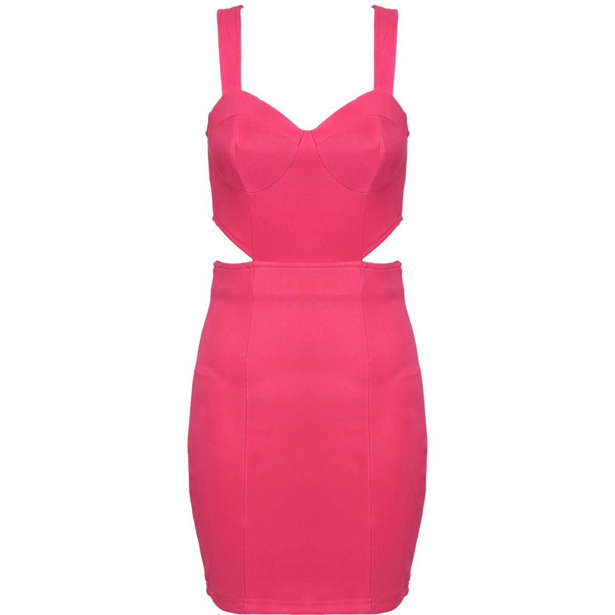 Pink Cut Out Bodycon Dress Preview