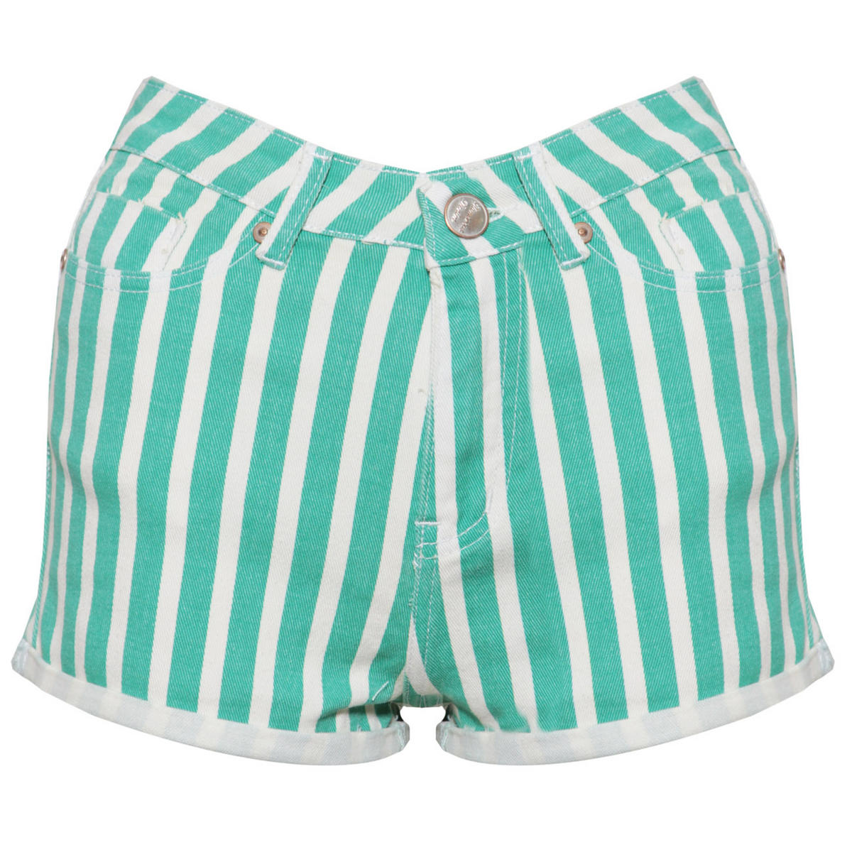 SIZE 14 ONLY Green Stripe Short Preview