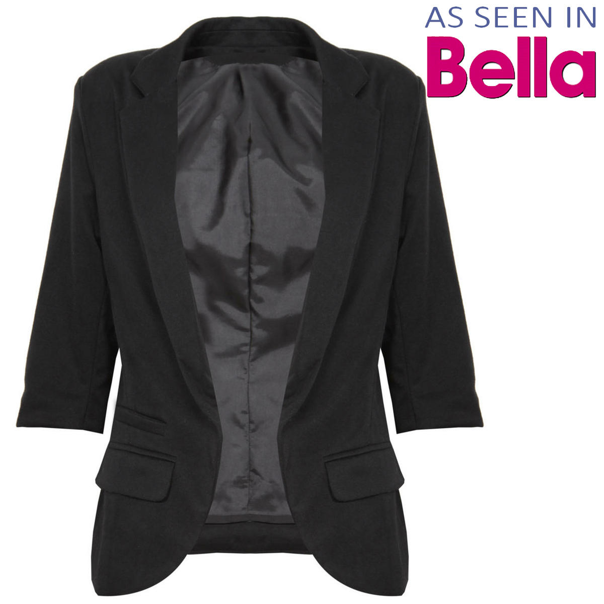 Black Tailored Blazer Preview