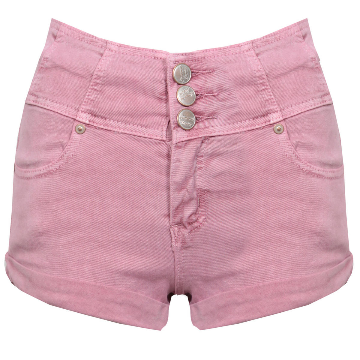 High Waisted Pink Shorts Preview